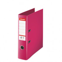 Brevordner No1 Power PP A4 75mm fuchsia