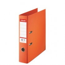 Brevordner No1 Power PP A4 75mm orange