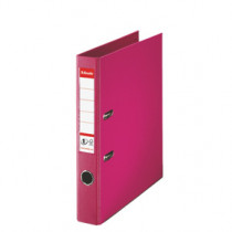 Brevordner No1 Power PP A4 50mm fuchsia