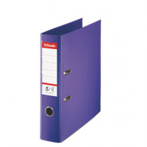 Brevordner No1 Power PP A4 75mm violet