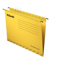 Hængemappe forstærket A4 gul (25)