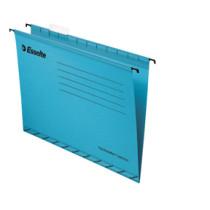 Hængemappe forstærket folio blå (25)