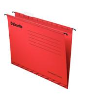 Hængemappe forstærket folio rød (25)