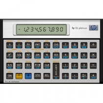 HP12CPL financial calc. Platinum (Nordic)