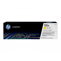 Color LaserJet 131A yellow toner