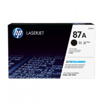 LaserJet 87A black toner cartridge