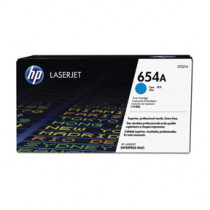 Color laserjet 654A cyan toner cartridge