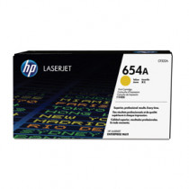 Color laserjet 654A yellow toner