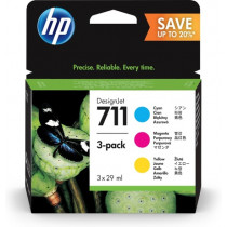 No711 CMY ink cartridge, 28ml (3)