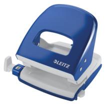 Leitz hulapparat 5008 2-huls t/30 ark blå