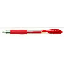 Gelpen m/klik G-2 0,5 rød