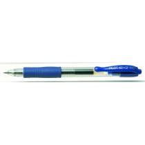 Gelpen m/klik G-2 0,5 blå