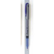 Filtpen m/hætte V-Razor Point 0,8 blå