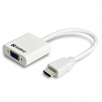 HDMI to VGA Converter, White