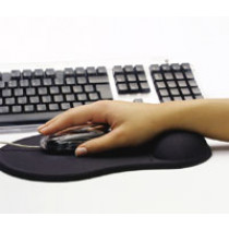Mouse Pad w/gelsupport, Black