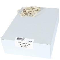 Elastik hvid 140x10mm 1000g