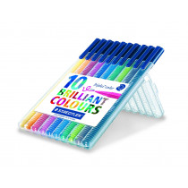 Fiberpen Triplus Color 1,0mm ass (10)