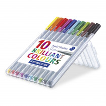 Fineliner Triplus 0,3mm ass (10)