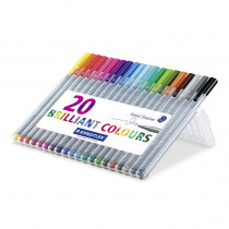 Fineliner Triplus 0,3mm ass (20)