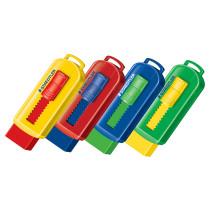 Viskelæder PVC frit m/skub funktion ass farver