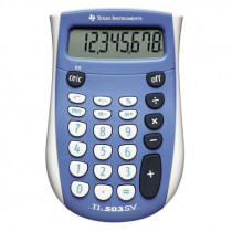 Texas TI-503 SV calculator blisterpacked