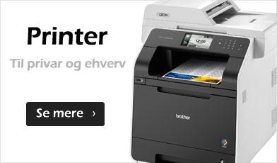 Printer - laser og blæk
